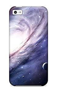 For Iphone 5c Tpu Phone Case Cover(space)