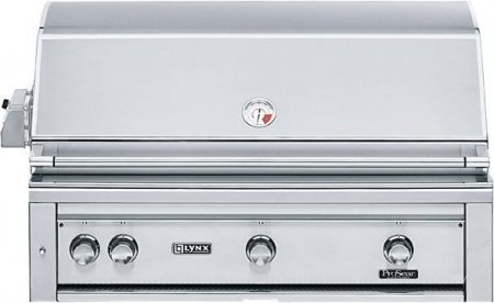 Lynx L42R-1-LP Built-In Propane Gas Grill with Rotisserie, 42-Inch ()