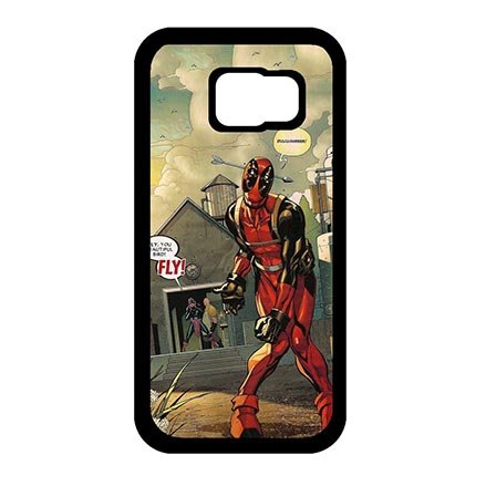 Classy Samsung Galaxy S6 Best Case Protection, Deadpool Marvel Comics Samsung S6 Dust Proof Lightweight Cases For Women
