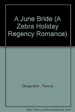 book cover of A June Bride