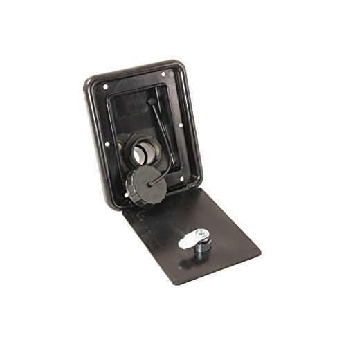 JR Products (A6113-A Black Key Lock Gravity Water Hatch