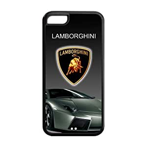 Lamborghini Logo iPhone 5c Case Cool Racing Car Durable Back Cover Cases at NewOne