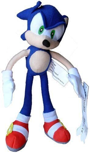 Shalleen Sonic The Hedgehog X : Blue Sonic Plush Doll Stuffed Toy 9 inches - Sonic The Hedgehog Costume Australia