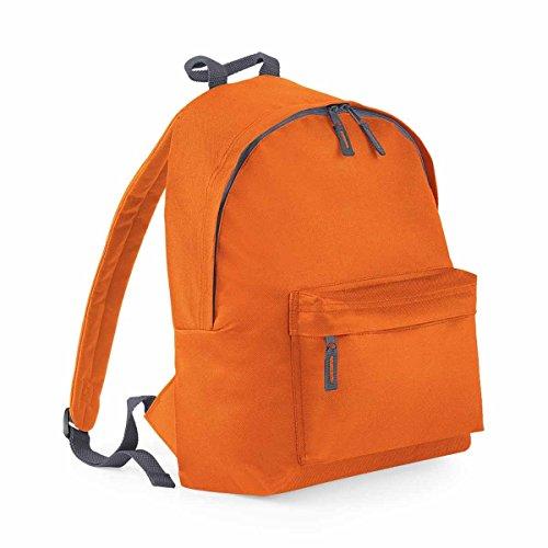 Orange Bagbase Junior Graphite Grey Bagbase Backpack Backpack Orange Junior Fashion Fashion qwIBBE