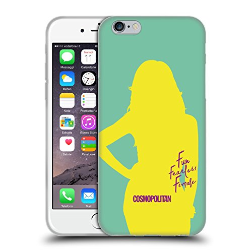 Official Cosmopolitan Cover Girl 5 Fun Fearless Female Soft Gel Case for Apple iPhone 6 / 6s
