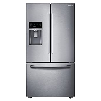 refrigerator amazon. samsung rf28hdedbsr french door refrigerator, 27.8 cubic feet, stainless steel refrigerator amazon s