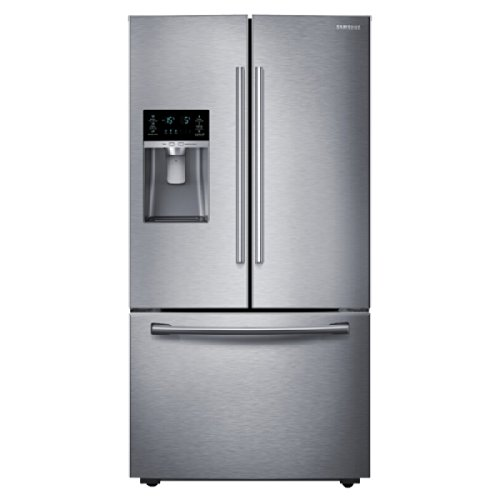 (Samsung RF28HDEDBSR Energy Star 27.8 Cu. Ft. French Door Refrigerator with ShowCase Fridge Door and Freezer Drawer, Stainless Steel)