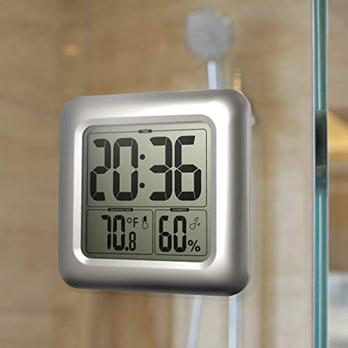 Solar Lighted Outdoor Clock
