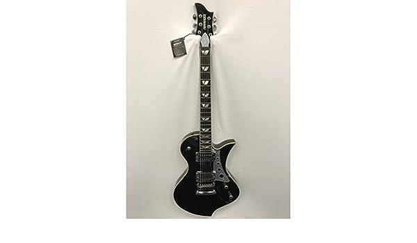 Fernandes – Guitarra eléctrica Ravelle Steeler negro: Amazon.es ...