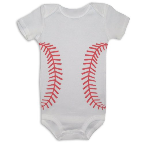 Baby Short Sleeve Baseball Outfit