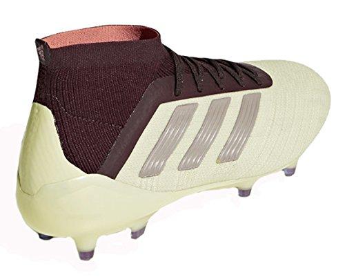 Adidas Donne Predatori 18.1 Ditta Tacchetti Terra - (talco / Vapori Grigio Metallizzato / Marrone)