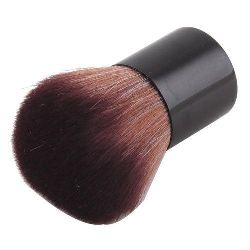 Smile Brush set Fashion Convinient 1Pcs Pro Mushroom Loose Power Kabuki + Case