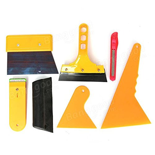 Instrument Outfit Proper - Car Window Tint Tool Kit Fitting Film Tinting Scraper Application - Pecker Trying Drive Try-On Shaft Appointment Creature Adjustment Dick - 1PCs