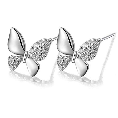 dc jewels Silver Plated Alloy Cubic Zirconia Earrings For Women, Silver
