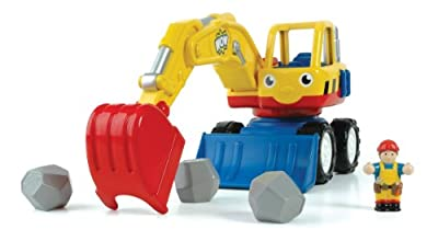 Wow Dexter The Digger - Construction Vehicle 5 Piece Set by WOW