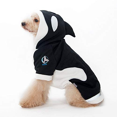 Killer Whale And Dog (Killer Whale Dog Hoodie by Dogo)