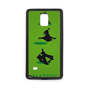QSWHXN Cover Custom New Pattern Printing The Matrix Phone Case For Samsung Galaxy note 4 [Pattern-6]