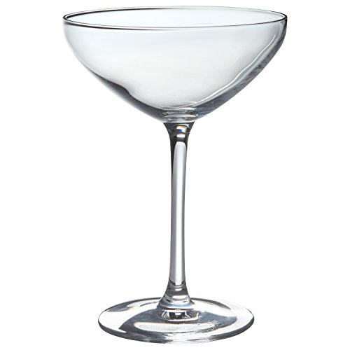Stone & Beam Traditional Martini Coupe Glass, 8-Ounce, Pack of 6 by Stone & Beam (Image #3)