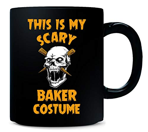 This Is My Scary Baker Costume Halloween Gift - -