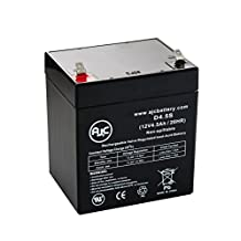DSC System SB1240 12V 4.5Ah Alarm Battery - This is an AJC Brand® Replacement