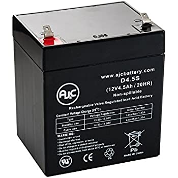 ADT 804302 12V 4.5Ah Alarm Battery - This is an AJC Brand Replacement