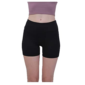 Fauhsto Womens Sports Shorts Yoga Pants - Squat Proof ...