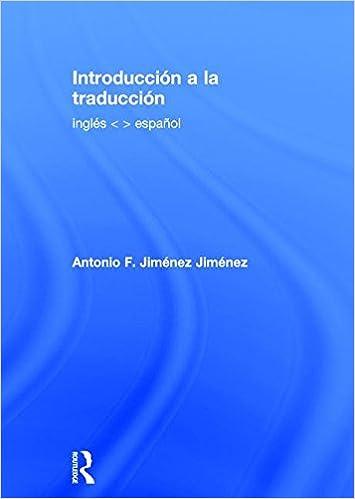 amazon com introducción a la traducción inglés español