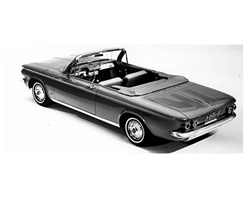 1962 Chevrolet Corvair Monza Convertible Factory Photo (1962 Convertible Corvair)