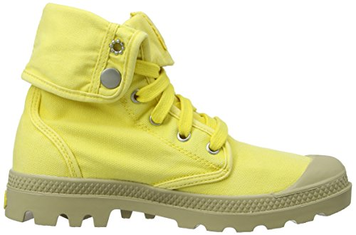Jaune Mode Yellow lemon Femme putty Baskets Palladium RPx5qwn8tg