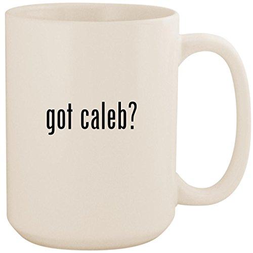 got caleb? - White 15oz Ceramic Coffee Mug Cup ()