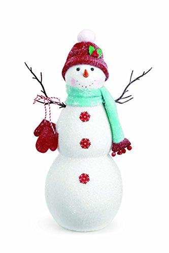 Napco Tall Holly Hat Snowman Decor