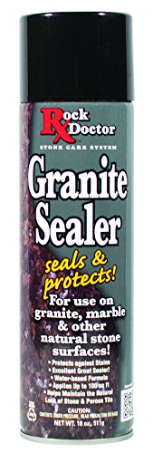 Rock Doctor Granite Sealer Spray - Seals & Protects Surfaces - (18 oz) Surface Sealer Spray, Granite/Marble Sealer Surface Spray for Vanity, Table Top, Kitchen Counters, Bathroom Stone Surfaces