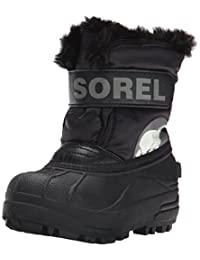Sorel Commander B Coal Cold Weather Boot (Toddler/Little Kid)
