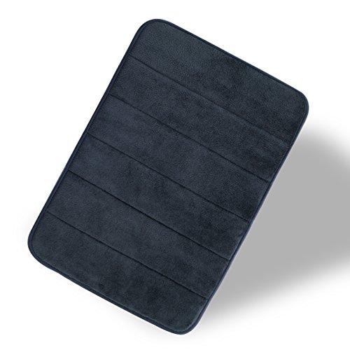 Endurable Mat (Pingzi Luxurious 17-Inch by 24-Inch Memory Foam Bath Rug)