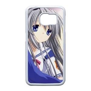 Samsung Galaxy S6 Edge Phone Case White Clannad VLN1115814