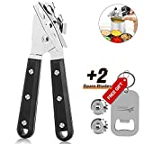 TGLBT 8032 Professional Stainless Steel Manual Can Opener, 18/10 Food-Safe Stainless Steel, Comfortable to grip,Ergonomically designed handle