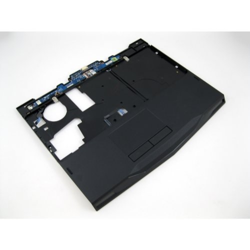 - NEW Genuine OEM DELL Alienware M11X Laptop Notebook Palmrest Trackpad Trak Pad Single Click Keyboard Bezel Touchpad Mouse Button Assembly HRR51