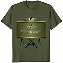 Mens Official Take Action! Claymore Mine T Shirt army military