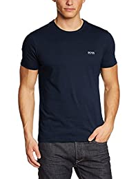 Hugo Boss Green Crew Neck Tee T-Shirt Navy