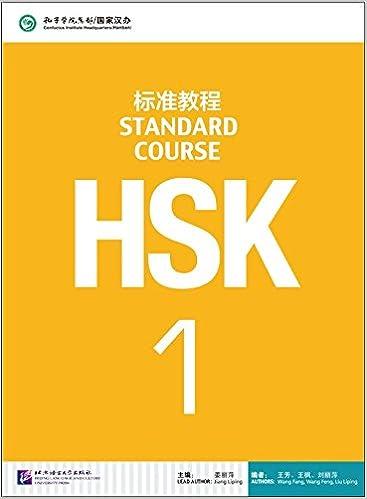 Ebooks Hsk. Standard Course. Textbook. Per Le Scuole Superiori. Con Cd Audio Mp3: 1 Descargar PDF