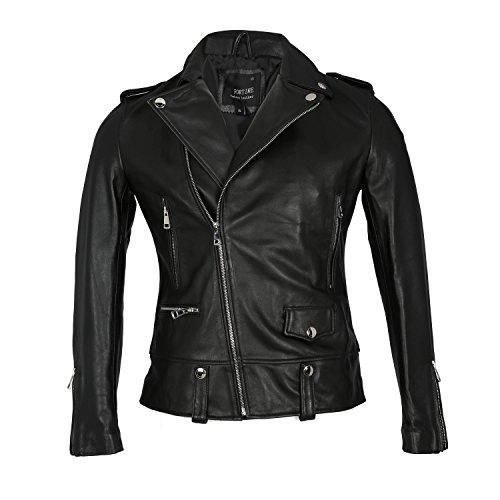 Leather Honda Motorcycle Jacket - 4