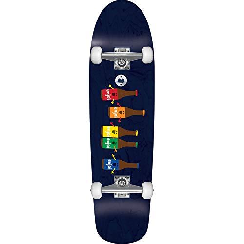 Enjoi Skateboards Beer Run Black Cruiser Complete Skateboard