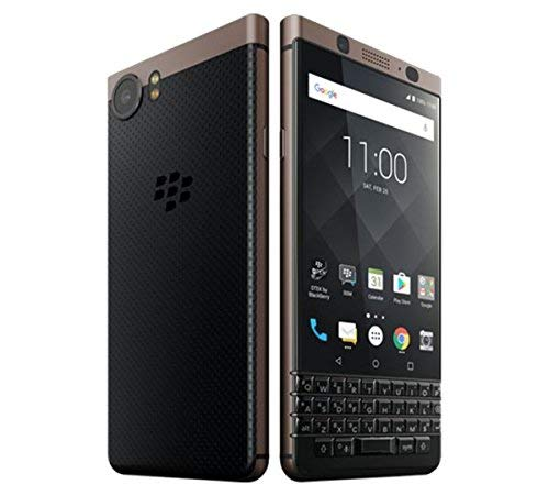 BlackBerry KEYone BBB100-5 64GB Unlocked GSM LTE BlackBerry OS Phone w/ 12MP Camera - Bronze Edition (Renewed) ()