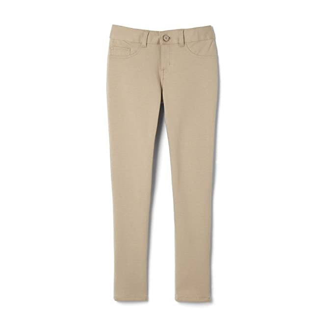 90fc12b114443 Amazon.com: French Toast Girls' Skinny 5 Pocket Knit Pant: Clothing