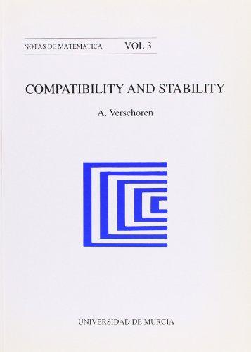 Descargar Libro Compatibility And Stability A Verschoren