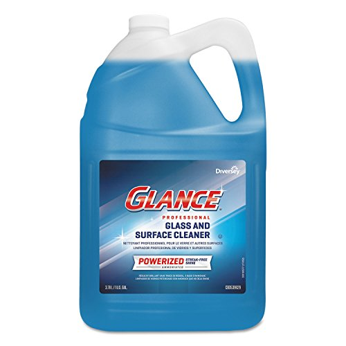 Glance Powerized Glass & Surface Cleaner, Liquid, 1 gal, -
