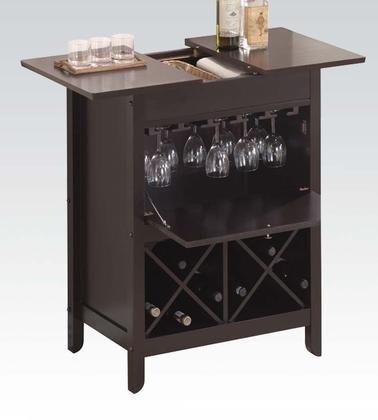 Bar Cabinet Set, Wenge Finish ()