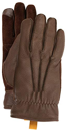 UGG Men's 3 Point Leather Gloves with Conductive Tips for sale  Delivered anywhere in USA