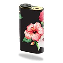 Skin Decal Wrap for Wismec Noisy Cricket mod skins sticker vape Hibiscus