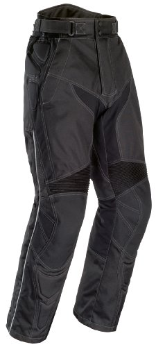 Tourmaster Mens Caliber Black Pants (Short Sizes) - Large